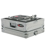 Odyssey Medium Duty Universal Turntable Case No Hinges Diamond Plate