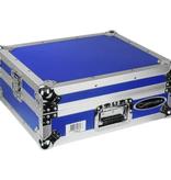 Odyssey Medium Duty Universal Turntable Case No Hinges Blue