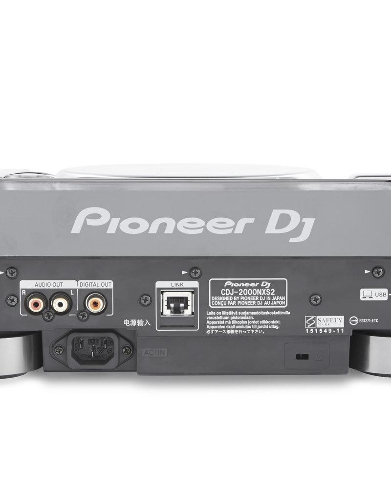 Decksaver Decksaver Pioneer CDJ-2000NXS2 Cover and Faceplate