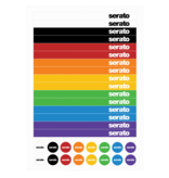 Sticker Lock Serato Control Vinyl (Pair)