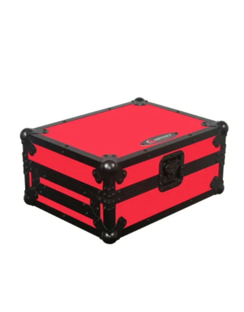 Odyssey Universal Large Format Media Player Flight Ready Case Red