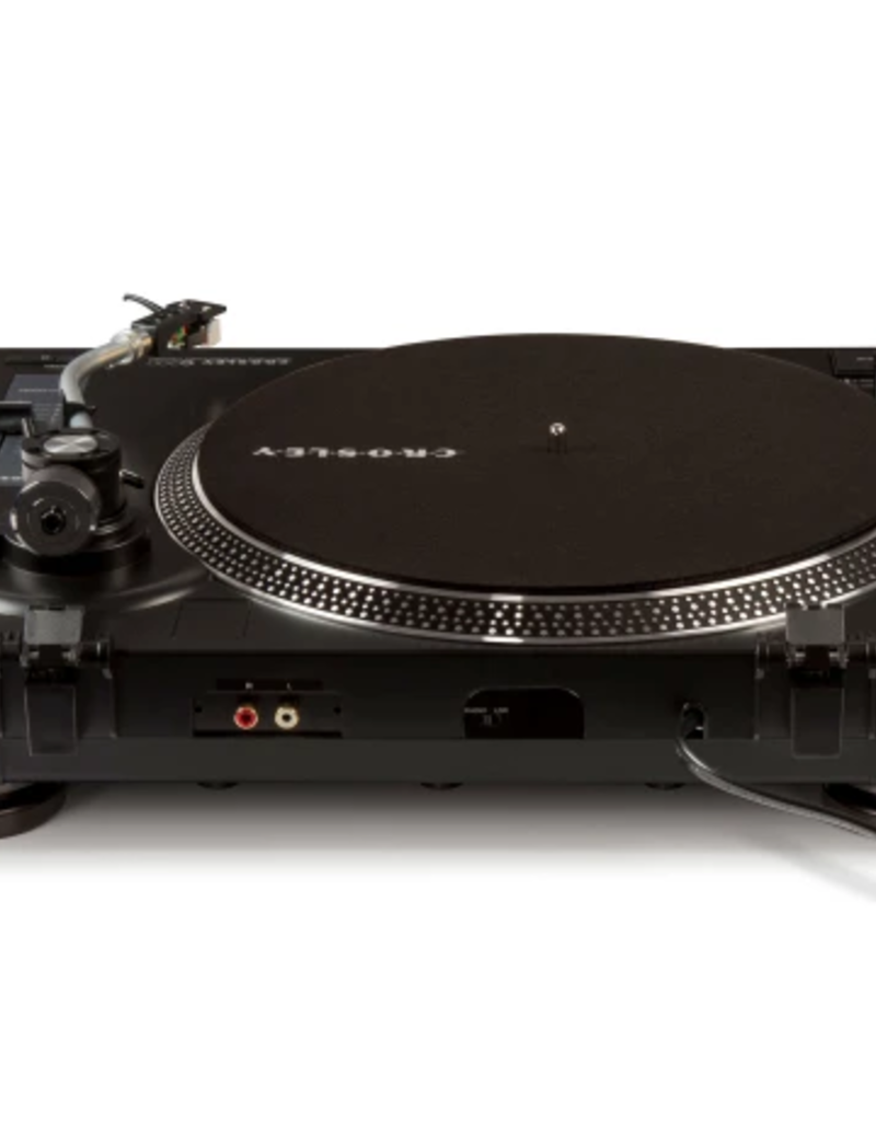 Crosley Crosley C200 Direct Drive Turntable with Built-in Preamp Black