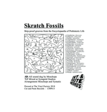 "Cut & Paste Skratch Fossils: Moschops 12"" Scratch Record - Cut & Paste Records"