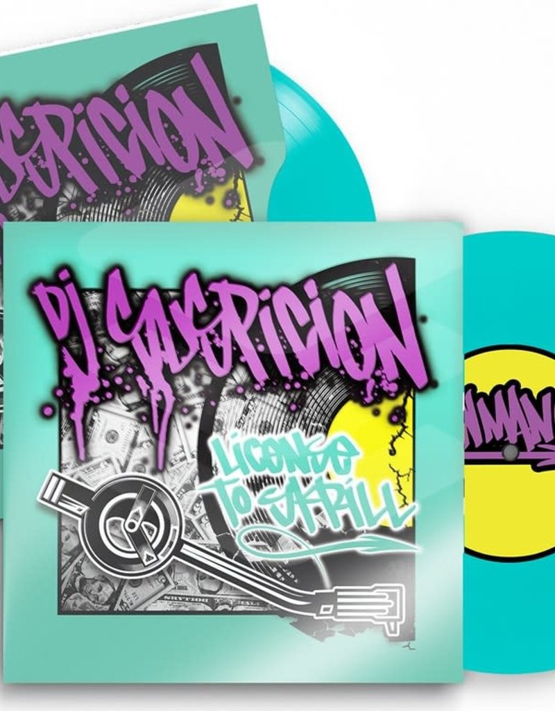 "Aw Man! Records License to Skrill: DJ Suspicion 7"" Scratch Record"