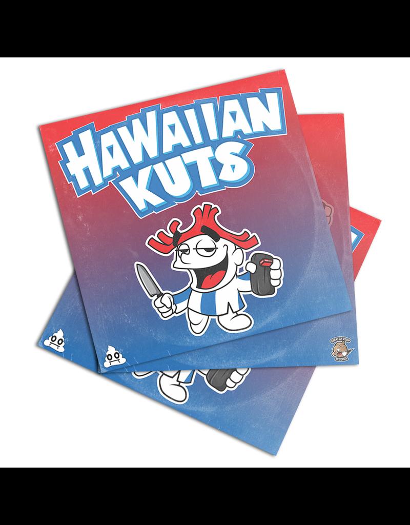 "Skratch Poop Hawaiian Kuts: DJ Idea /  Krystilez 7"" Scratch Record"