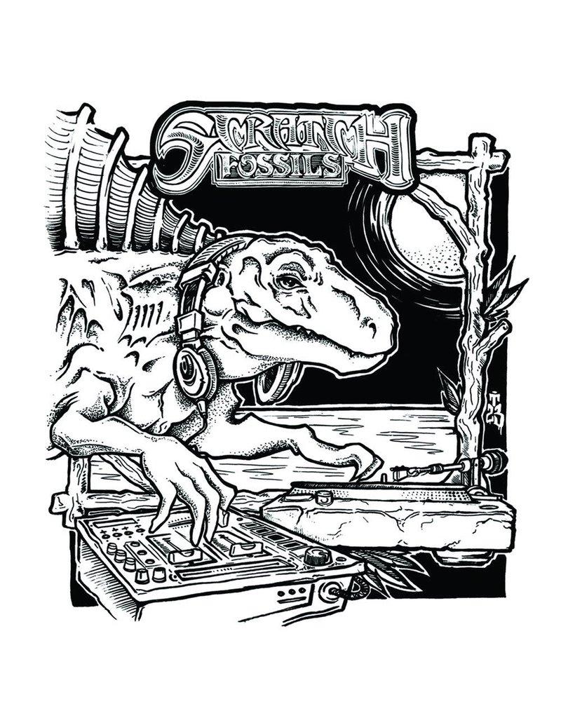 "Cut & Paste Skratch Fossils: Moschops 7"" Scratch Record - Cut & Paste Records"