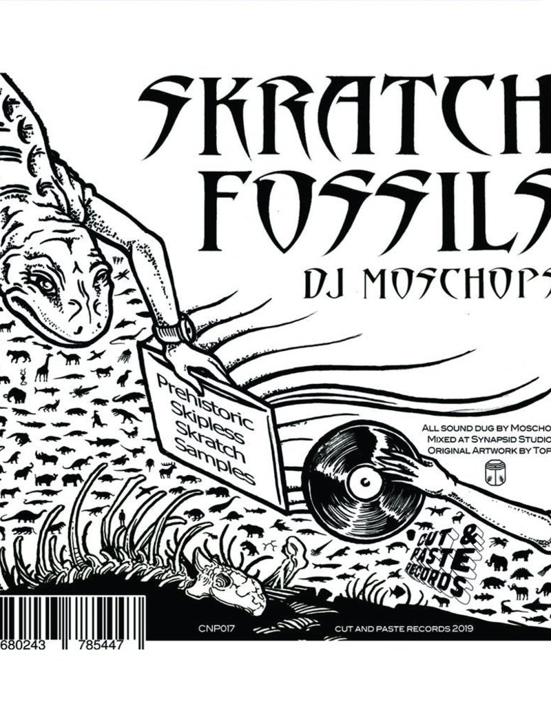 "Cut & Paste Skratch Fossils: Moschops 7"" Scratch Record - Cut & Paste Records"