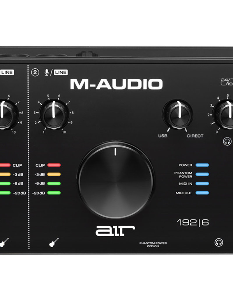 M-Audio Air 192|6 - 2 in / 2 out USB Audio MIDI Interface