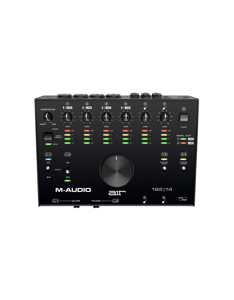 M-Audio AIR 192|14 - 8 in / 4 out USB Audio MIDI Interface