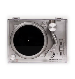 "Crosley Crosley RSD3 Mini Turntable for Real 3"" Records Silver (Single)"