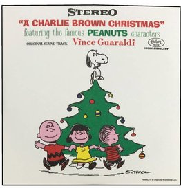 "Crosley A Charlie Brown Christmas Series Blind Box  3"" Record (1 of 4 Records)"