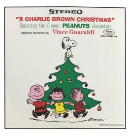 """Crosley A Charlie Brown Christmas Blind Box Series 3"""" Record (1 of 4 Records)"""