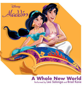 "Crosley Disney Aladdin: A Whole New World 3"" Record"