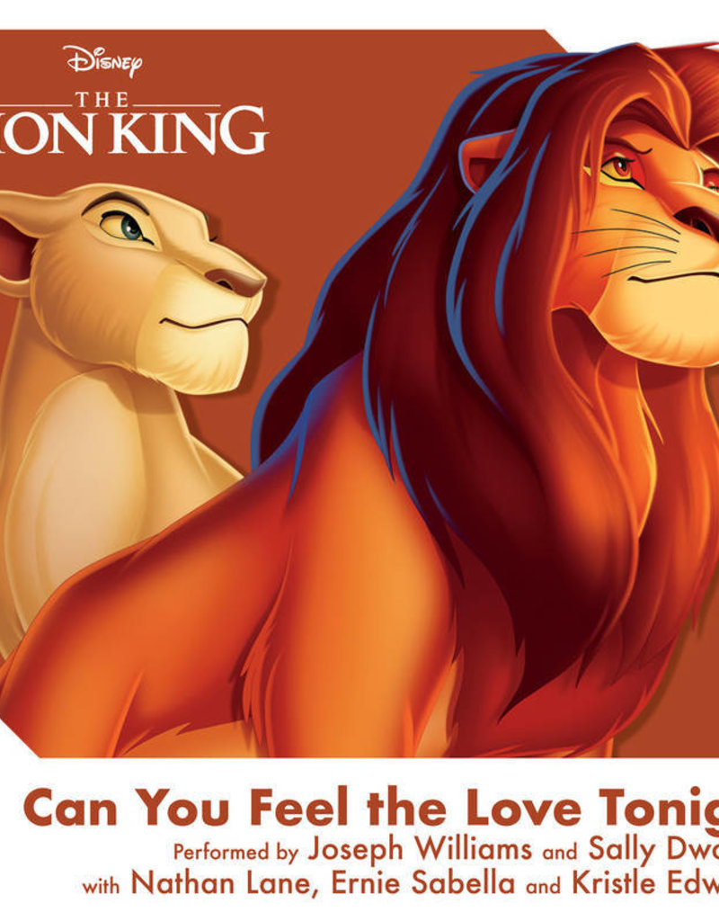 """Crosley Disney The Lion King: Can You Feel The Love Tonight 3"""" Record"""