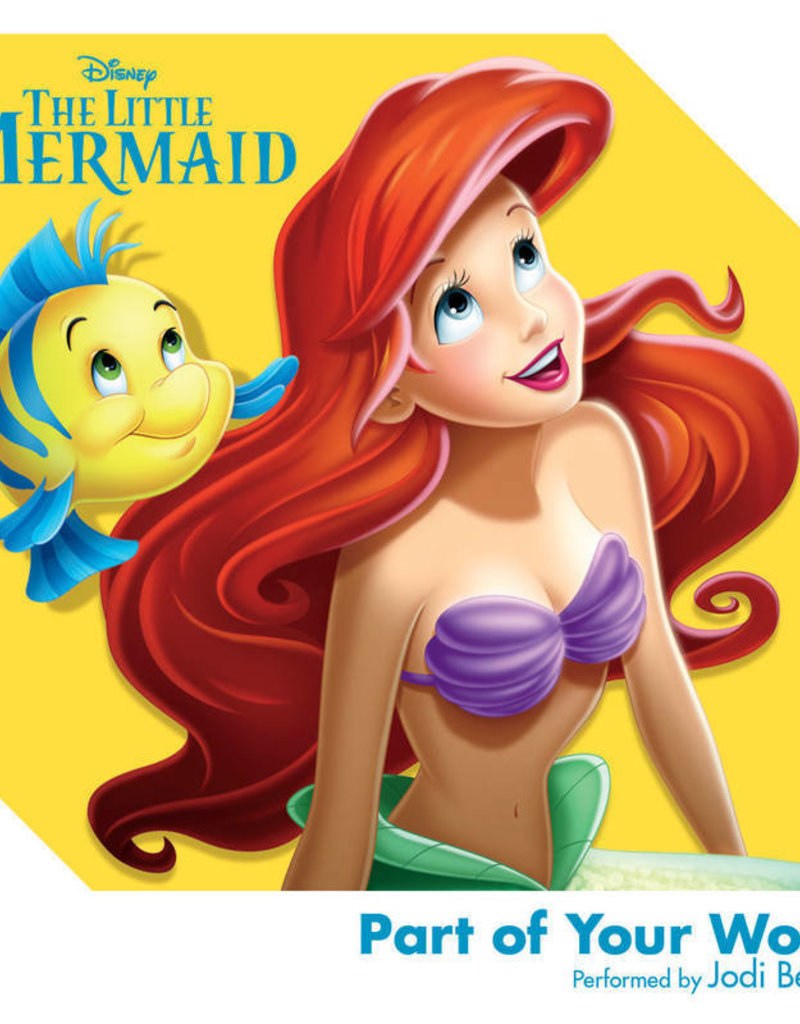 """Crosley Disney The Little Mermaid: Part Of Your World 3"""" Record"""