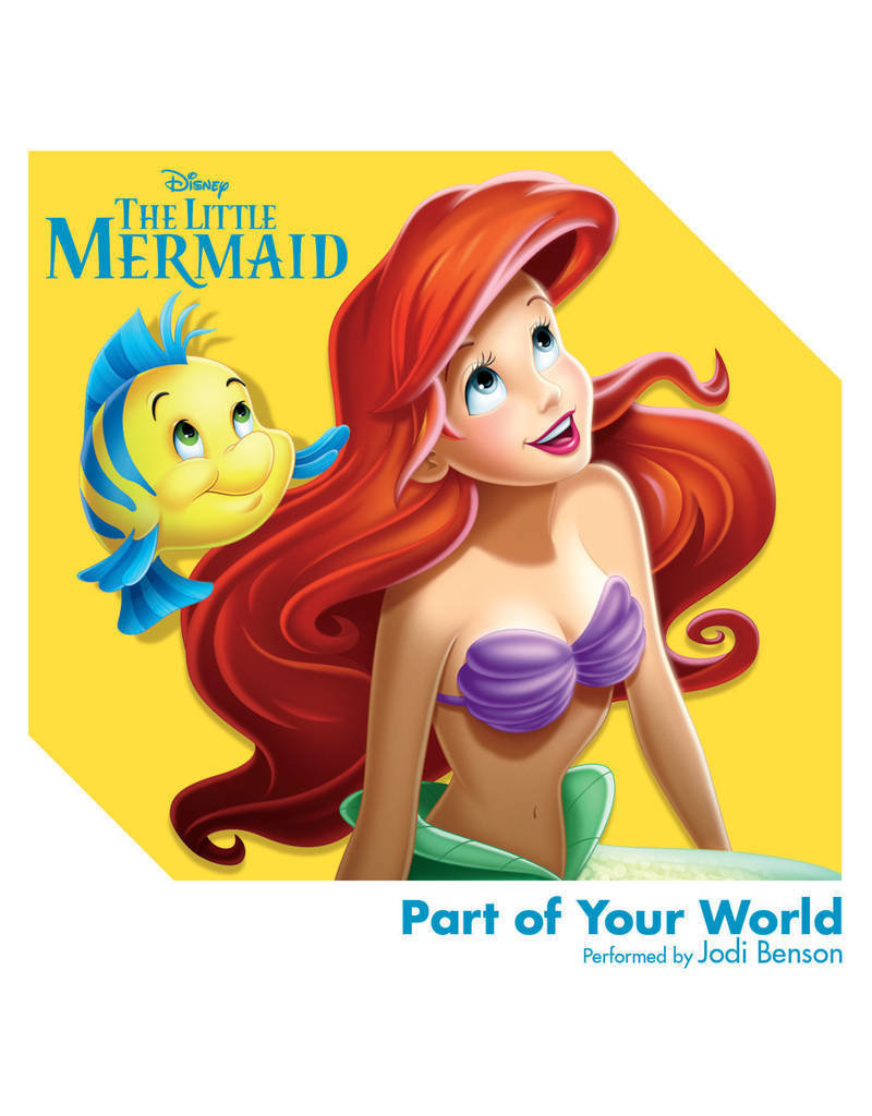 "Crosley Disney The Little Mermaid: Part Of Your World 3"" Record"