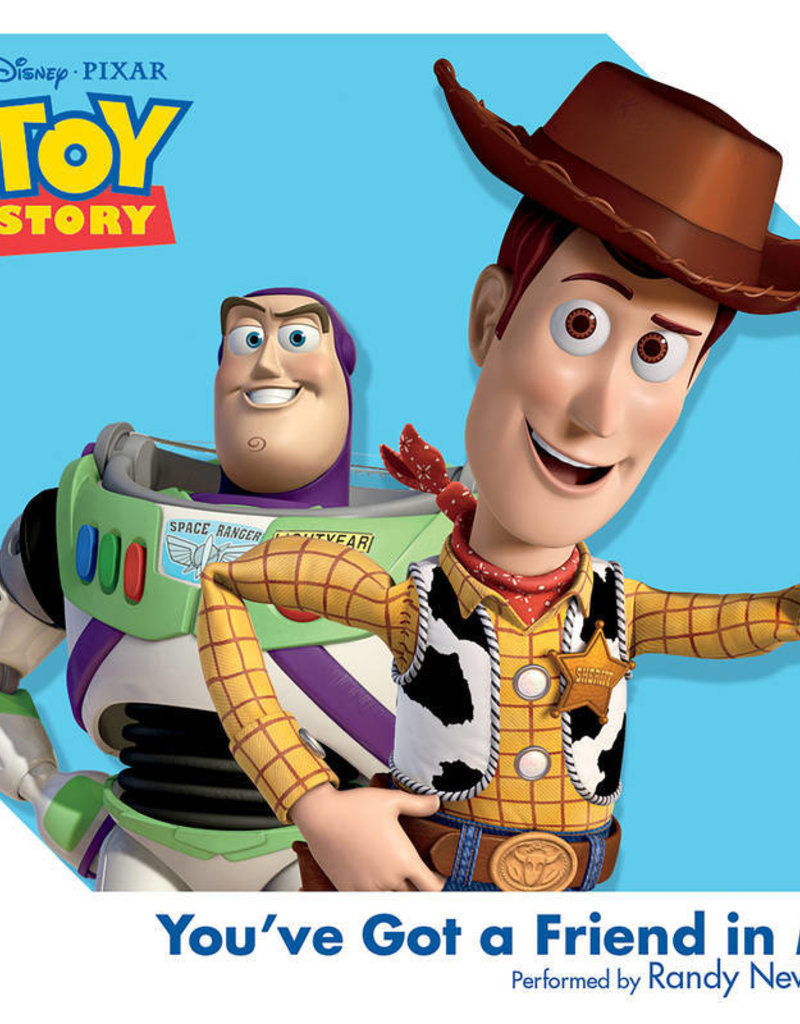 """Crosley Disney A Toy Story: You've Got a Friend in Me 3"""" Record"""