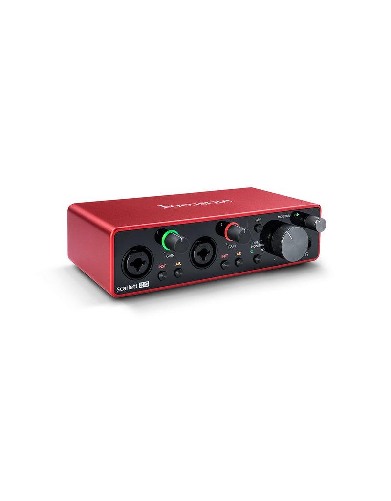Focusrite Focusrite Scarlett 2i2 USB Audio Interface (3rd Gen)