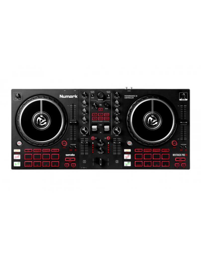 Mixtrack Pro FX 2-Deck DJ Controller with Effects Paddles for Serato DJ - Numark