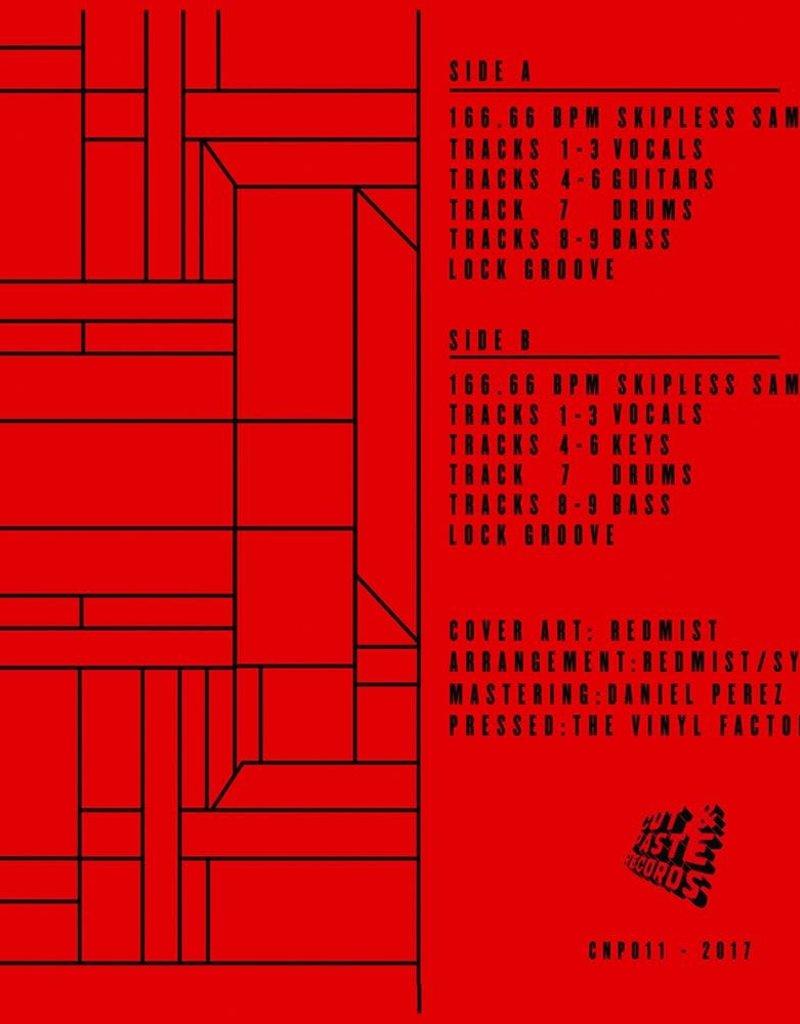 "Cut & Paste Improvise Wisely: Redmist 7"" Scratch Record - Cut & Paste Records"