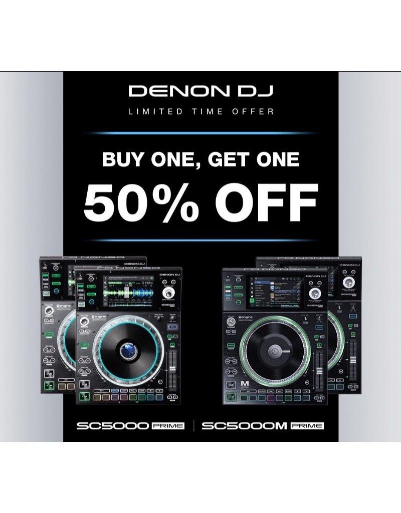 Denon SC5000M Prime Media Controller w/ Motorized Platter Buy One Get One 50% Off!!