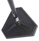 On-Stage On-Stage Hex-Base Quarter-Turn Threadless Mic Stand - Black
