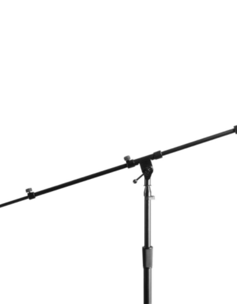 On-Stage On-Stage Studio Boom Hex-Base Studio Microphone Stand - Black