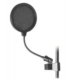 "On-Stage On-Stage 6"" Adjustable Clip On Pop Blocker ASVS6-B"