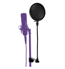 "On-Stage On-Stage 6"" Pop Blocker w/ Clamp Gooseneck and Replaceable Filters ASVSR6GB"