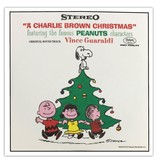 "Crosley A Charlie Brown Christmas Set of Four 3"" Records"