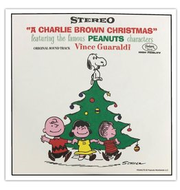 """Crosley A Charlie Brown Christmas Blind Box Set of Four 3"""" Records"""