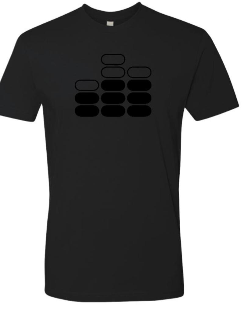 Mile High DJ Supply All Black Mile High DJ Supply T Shirt