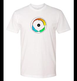 Mile High DJ Supply Visual Vinyl Vol. 1 White T Shirt