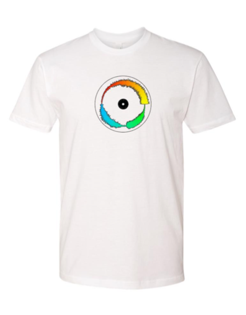 Mile High DJ Supply Visual Vinyl Vol. 1 White T Shirt