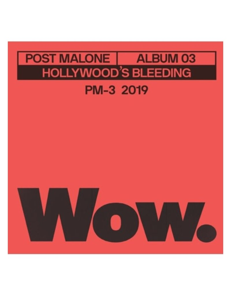 "Crosley Post Malone: Wow 3"" Record"