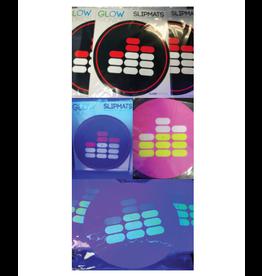 "Mile High DJ Supply Mile High Dj Supply 12"" Slipmats (Pair) 9oz SkinnEz™ Glazed™ Bottom Made By Glowtronics"
