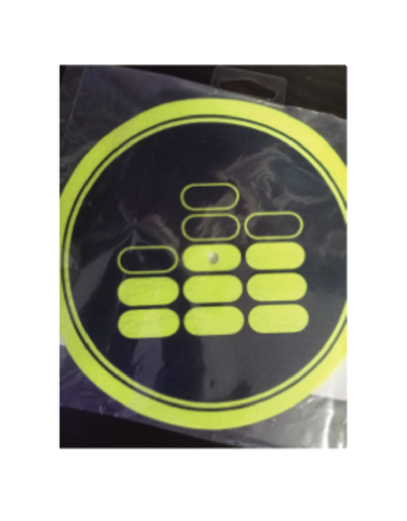 "Mile High DJ Supply Mile High Dj Supply 7"" Slipmat 9oz SkinnEz™ Glazed™ Bottom Made By Glowtronics"