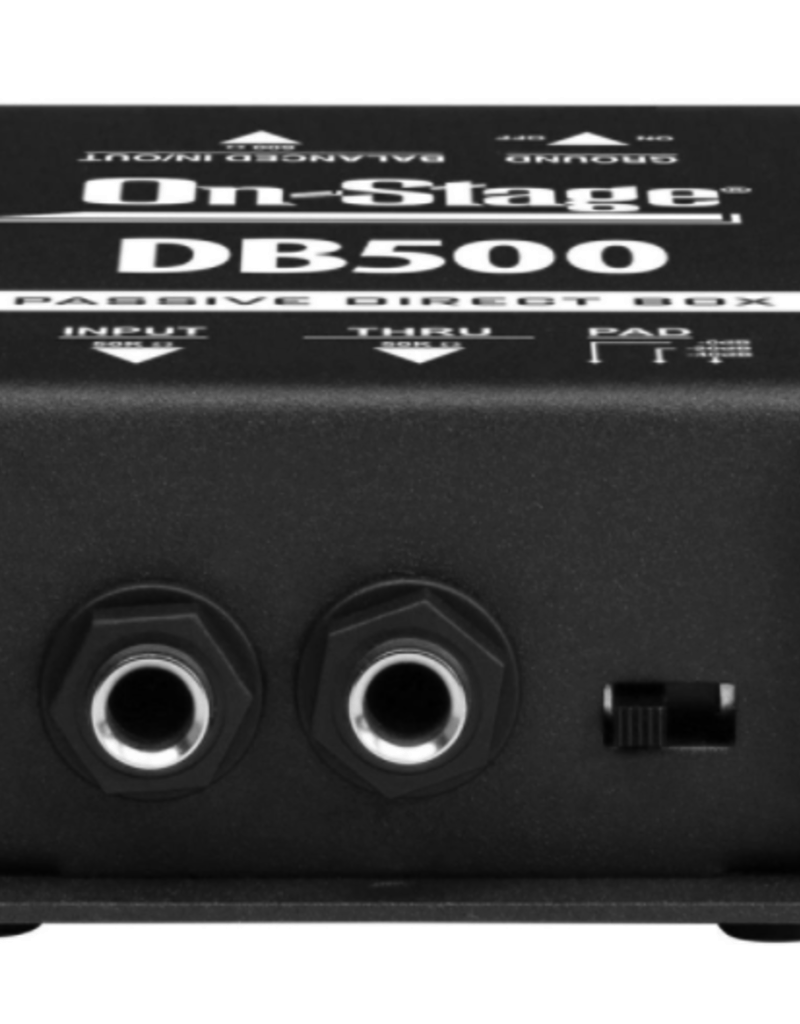 On-Stage On-Stage DB500 Passive DI Box