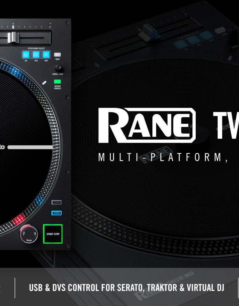 ***PRE-ORDER*** RANE Twelve MKII Motorized Control Turntable