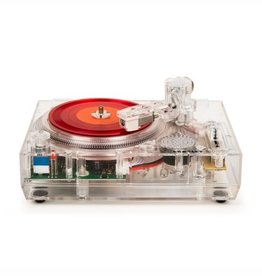 "Crosley Crosley RSD2020 Clear Mini Turntable for Real 3"" Records (Single)"