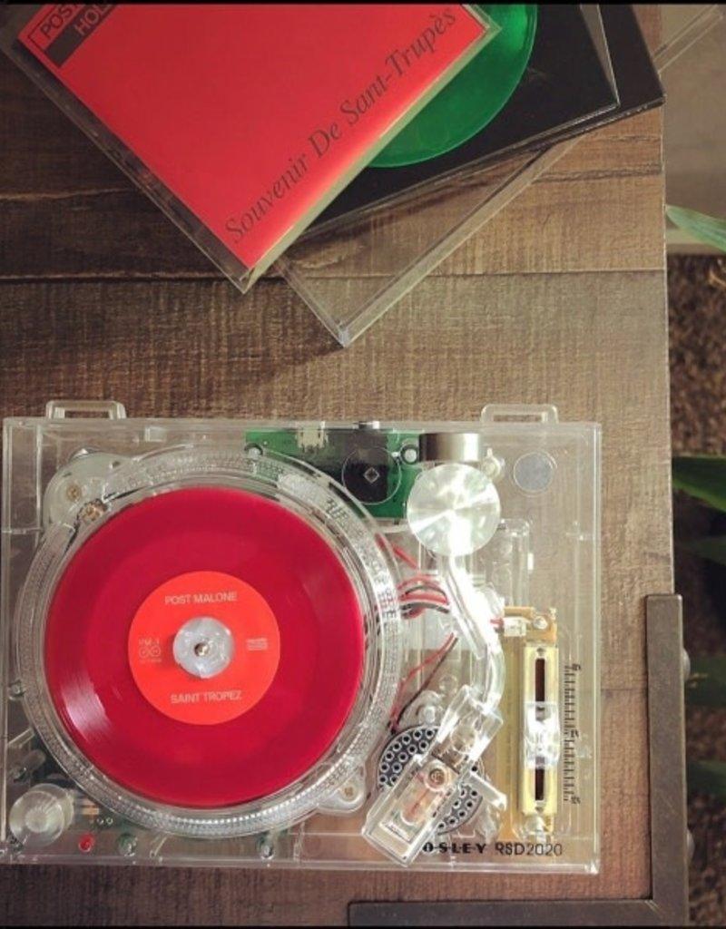 "Crosley Crosley RSD2020 Clear Mini Turntable for Real 3"" Records (Single)"