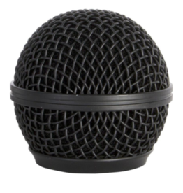 On-Stage On-Stage SP58B Steel Mesh Mic Grille (Black)
