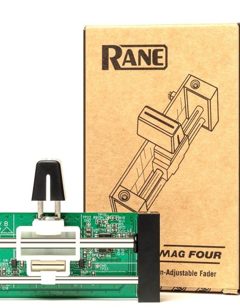 RANE Mag Four Contactless Tension-Adjustable Fader