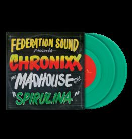 Serato X FEDERATION SOUND presents CHRONIXX inna MADHOUSE style Control Vinyl (Pair)