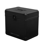 Odyssey Black KROM Record / Utility Case for 70 12″ Vinyl Records All Black
