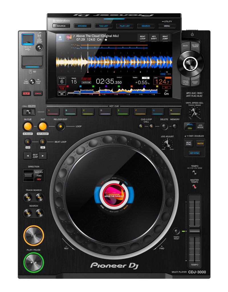 CDJ-3000 Professional DJ Multi Player (Black) - Pioneer DJ