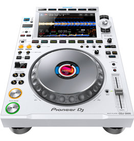CDJ-3000 Professional DJ Multi Player (White) - Pioneer DJ