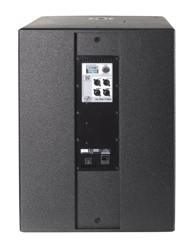 DAS Audio Das Audio Altea-718A 18 inch 1200W Powered Subwoofer (230 V or 115 V)