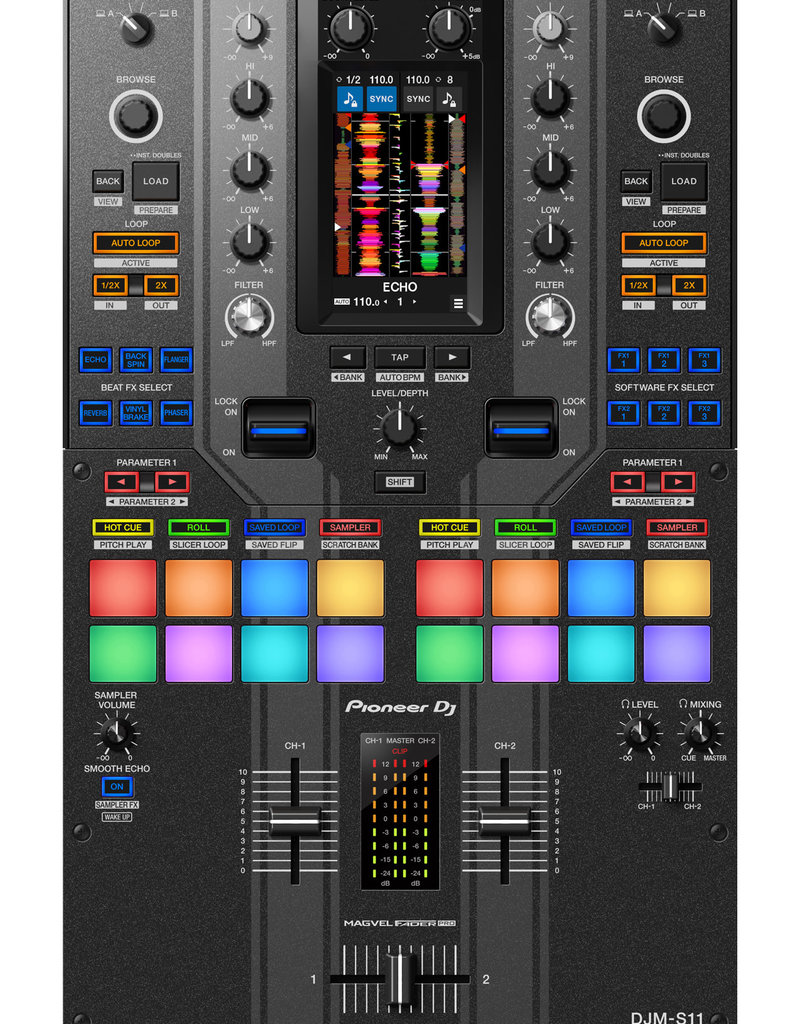 DJM-S11-SE Professional 2-Channel DJ Mixer - Pioneer DJ
