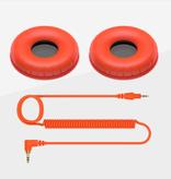 HC-CP08 CUE1 Series Ear Pads and Cord (Orange) - Pioneer DJ